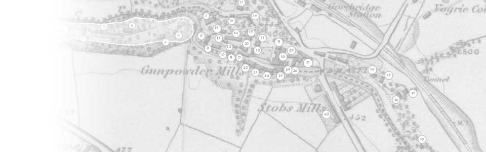 Stobs Mill Gunpowder Works