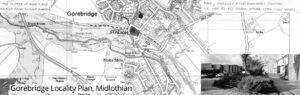 Gorebridge Locality Plan, Midlothian
