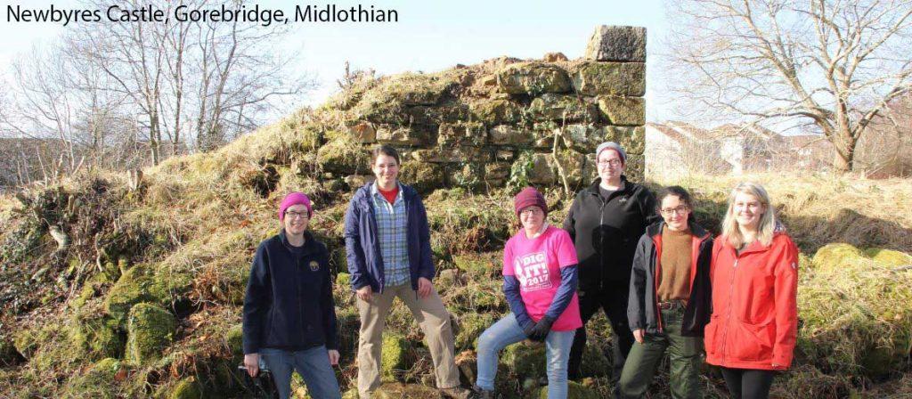 Newbyres Castle, Midlothian