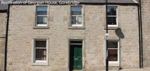 Restoration of Georgian House, Gorebridge